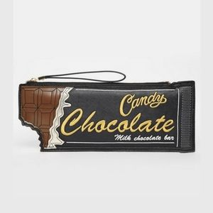Choc Bar Clutch Bag Chocolate Bar ASOS New Look